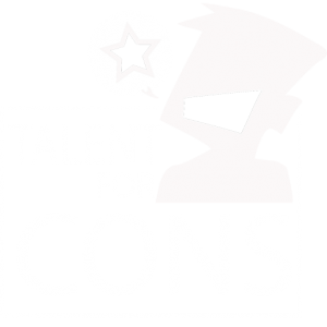 Talent For Cons Logo Inverted